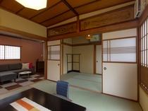 リビングルーム付二階客室「すずかぜ」(4名~6名用)