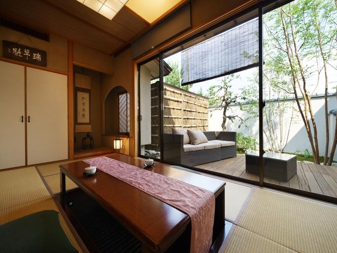 「梅香」露天風呂付客室