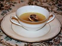 ディナーのスープ、(一例)