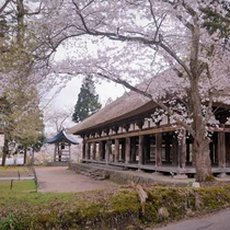 *熊野神社長床(喜多方市慶徳町)