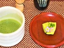 抹茶和菓子set