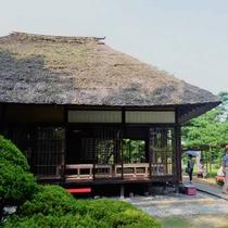 *御薬園 室町時代に建てられたという大名型山水庭園