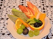 フルーツ盛り合わせ。