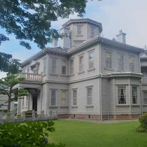 *天鏡閣(猪苗代町)  国の重要文化財に指定されている皇族により建てられた洋館です。