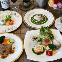 *[夕食一例]人気のオリジナルフレンチフルコース