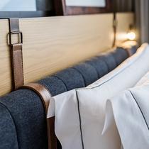 新客室 【高層フロア26~29階】伝統的な博多湾の色彩を取り入れ「豪華客船」をイメージした客室が誕生