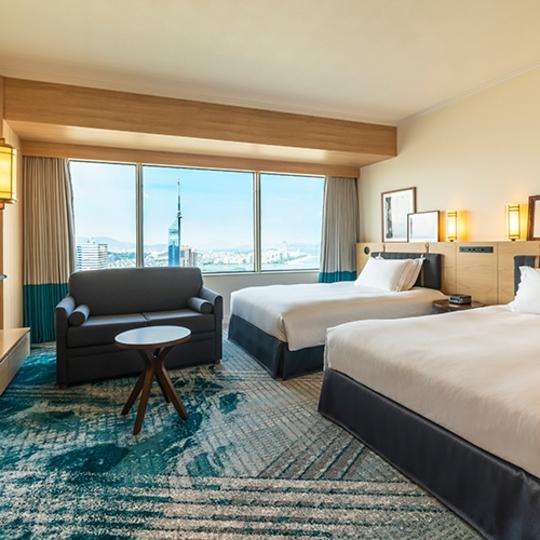福岡海鷹希爾頓酒店 Hilton Fukuoka Sea Hawk(ヒルトン福岡シーホーク)