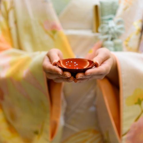 和装姿は花嫁の憧れ