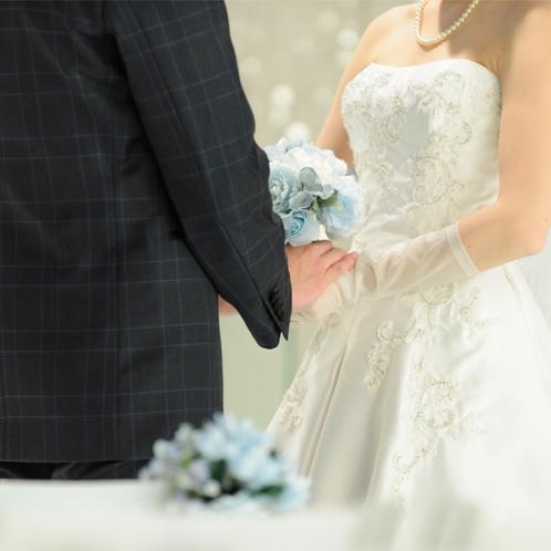 サムシングブルーを取り入れて幸せ花嫁に