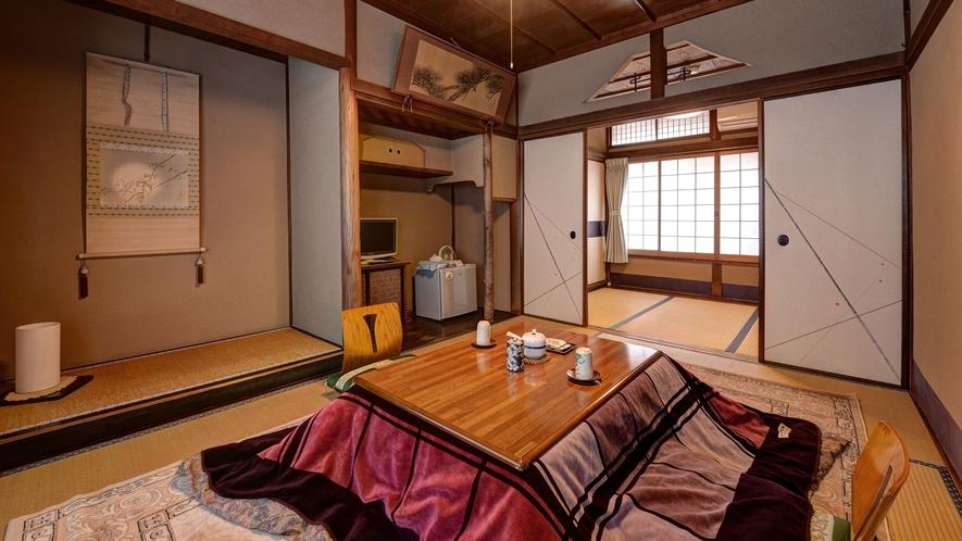 *【和室6畳BT付】全てしつらえの異なるお部屋です。