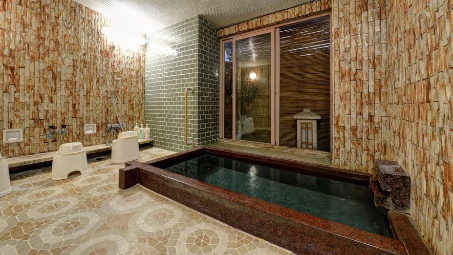 *【女湯】天然温泉で旅の疲れをしっかり癒してください。