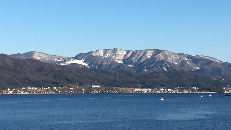 *【冬の宮津湾】 空気が澄んで眺めバツグン! 景色を楽しむなら冬の天橋立がおススメ
