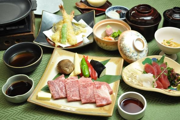 黒毛和牛ステーキ膳夕食プラン(1泊2食付)