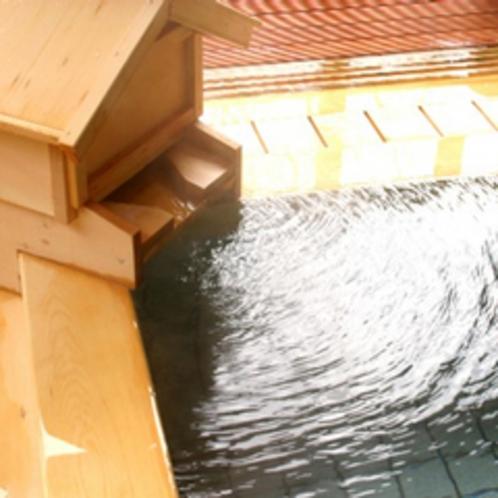 檜風呂湯口