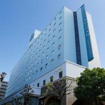 <外観>ようこそホテル京阪天満橋へ