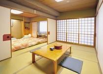 和室B■10畳と7.5畳の2部屋となっています。最大6枚までお布団をご用意致します
