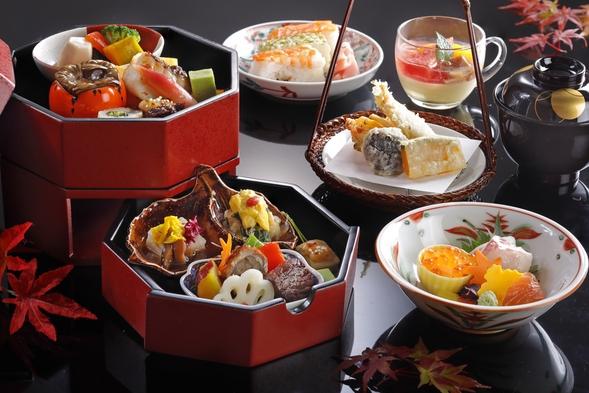 【9月・10月限定】昼食付プラン 日本料理 うえまち 旬彩弁当付プラン 15時チェックアウト