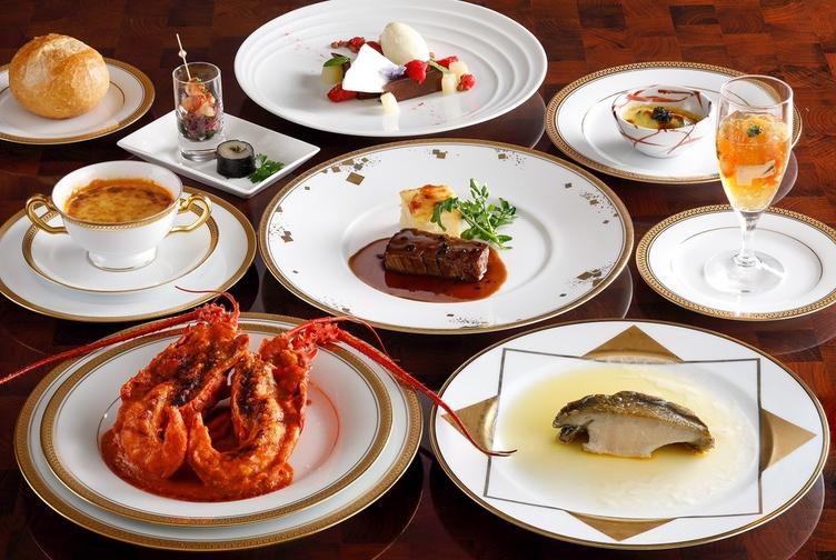 海の幸フランス料理「優雅なる晩餐」 夕朝食付プラン