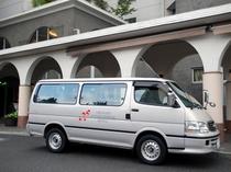 空港やJR大村駅への送迎車