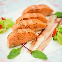 【食の都大感謝祭/ディナー】トラウトサーモンのコンフィーサラダ仕立て