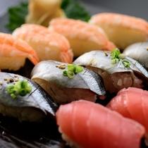 【食の都大感謝祭】握り寿司