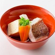 【食の都大感謝祭/ランチ】真鯛の潮汁