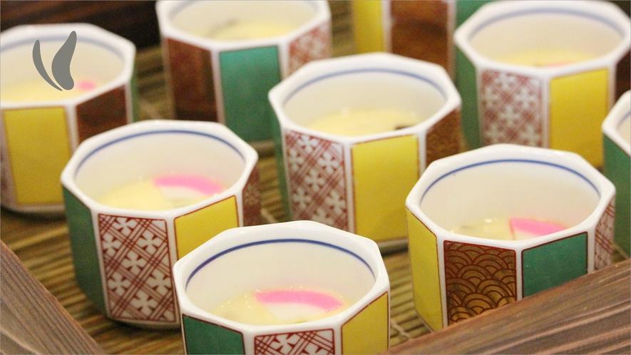 石仏たまご使用【かぼす香る茶碗蒸し】