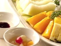 健康美容に朝フルーツ