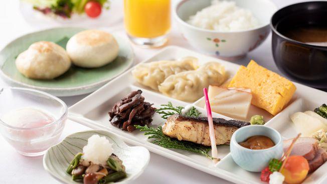 ◆朝食ブッフェ一例:お好きなものをお好きなように・・・ブッフェ形式でご用意