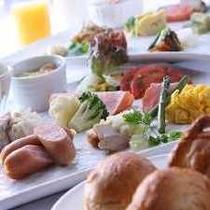 朝から十勝を満喫!人気の朝食バイキング