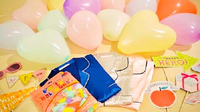 【デコルーム】◇素泊り◇かわいいをとことん追求!今夜はGirls' Party!12時レイトアウト