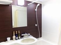 バスルーム シングルルーム  平成26年11月 バスルームをリニューアルしました