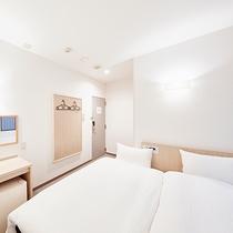 【ANNEX】プチツインルーム:シングルよりも少し広い客室にエキストラベッドを入れたお部屋です。