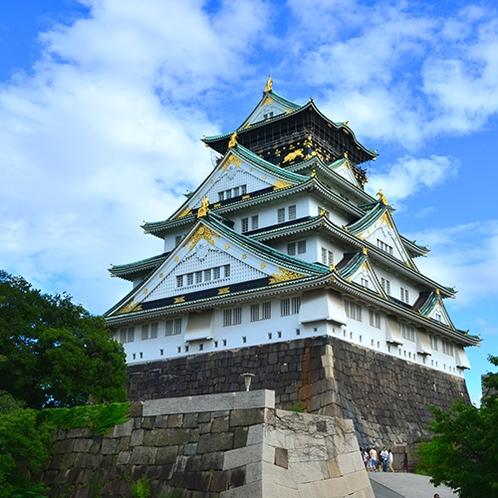 大阪城:春は桜、夏は新緑、秋は紅葉と四季折々の大阪城をお楽しみください!