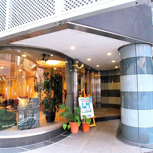【本館】入り口:ル・ボテジュール ナンバへようこそ!