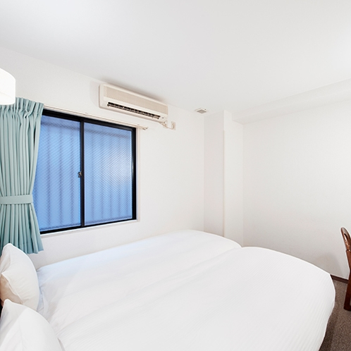 【ANNEX】エコノミーツイン:シングルよりも少し広い客室にエキストラベッドを入れたお部屋です。