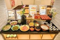朝食バイキング(博多名物・ご飯のお供コーナー)