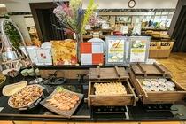バイキング(焼き魚・卵料理コーナー)