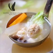 【福岡郷土料理】博多水炊き風つくね汁