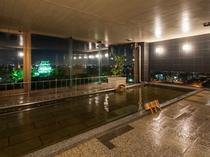 絶景の夜の岡崎城