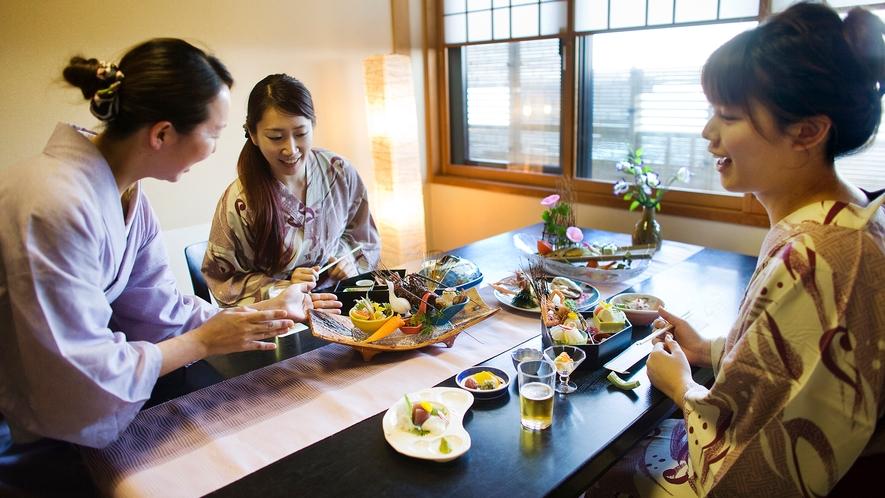 ■個室お食事処-万華-■
