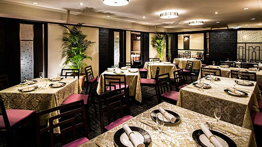西館1階 中国料理「三楽」