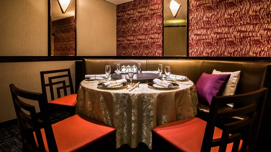 西館1階 中国料理「三楽」個室