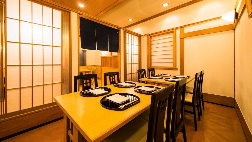 東館2階 日本料理「つる家」  個室