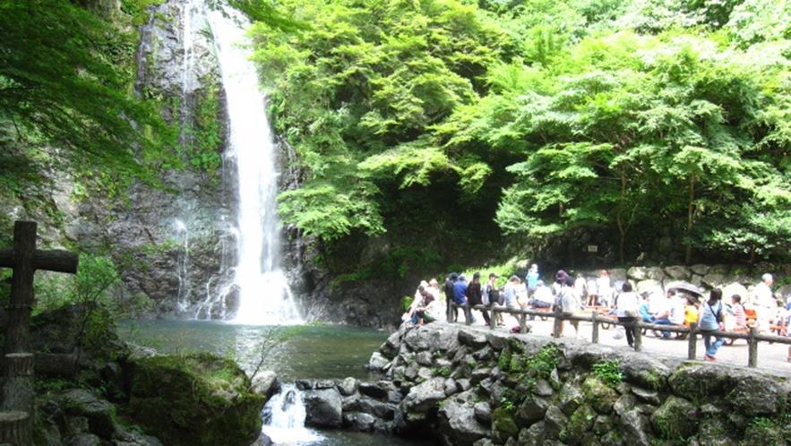 日本の滝100選~箕面大滝~