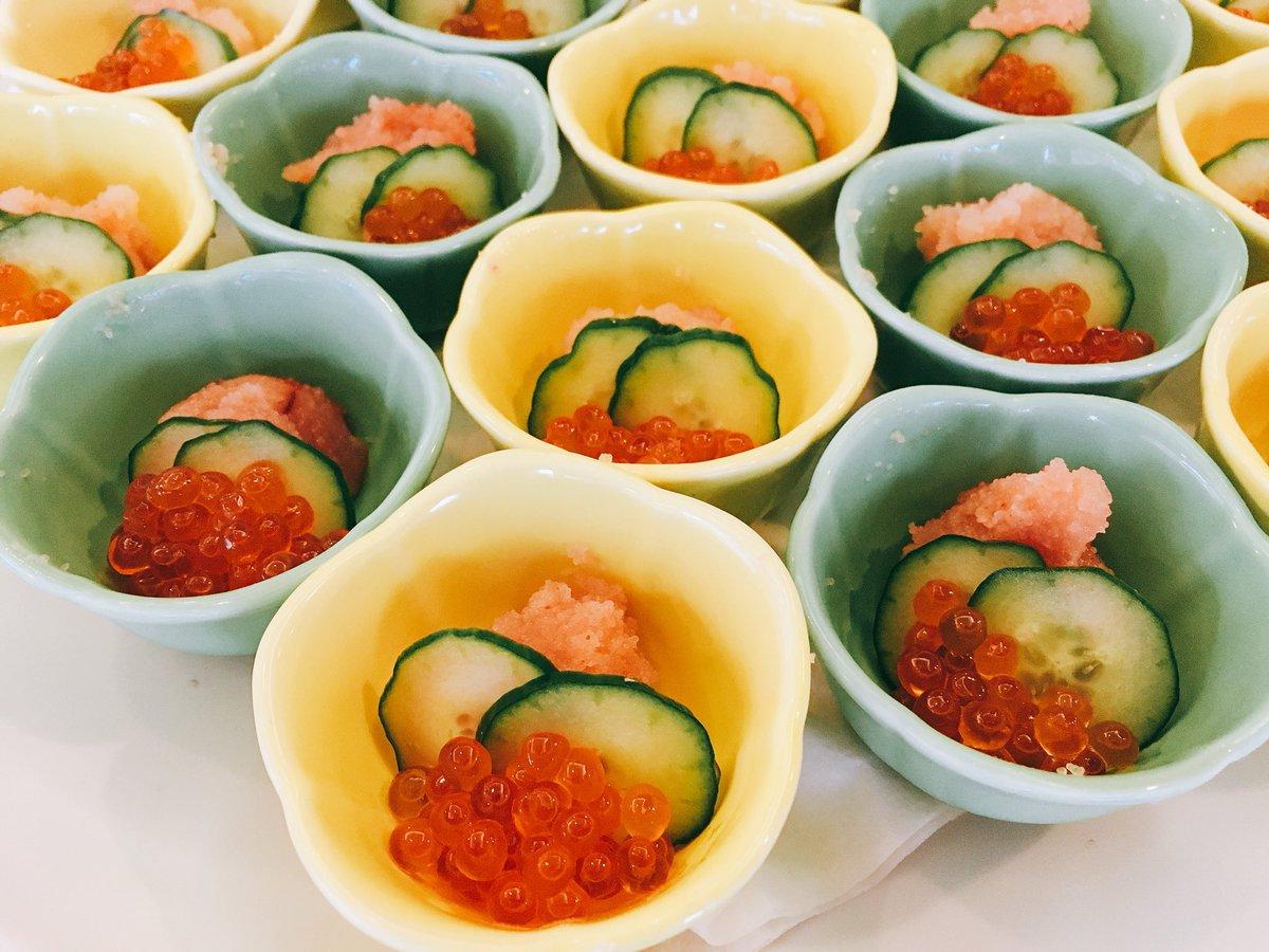 いくらと明太子の海鮮小鉢