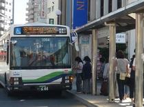 TDLへバスで約15分