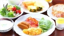 朝食料理例