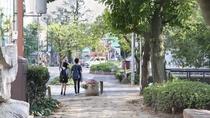 ホテルを一歩出れば季節を感じる西川緑道公園