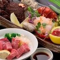 ■神戸牛&伊勢海老